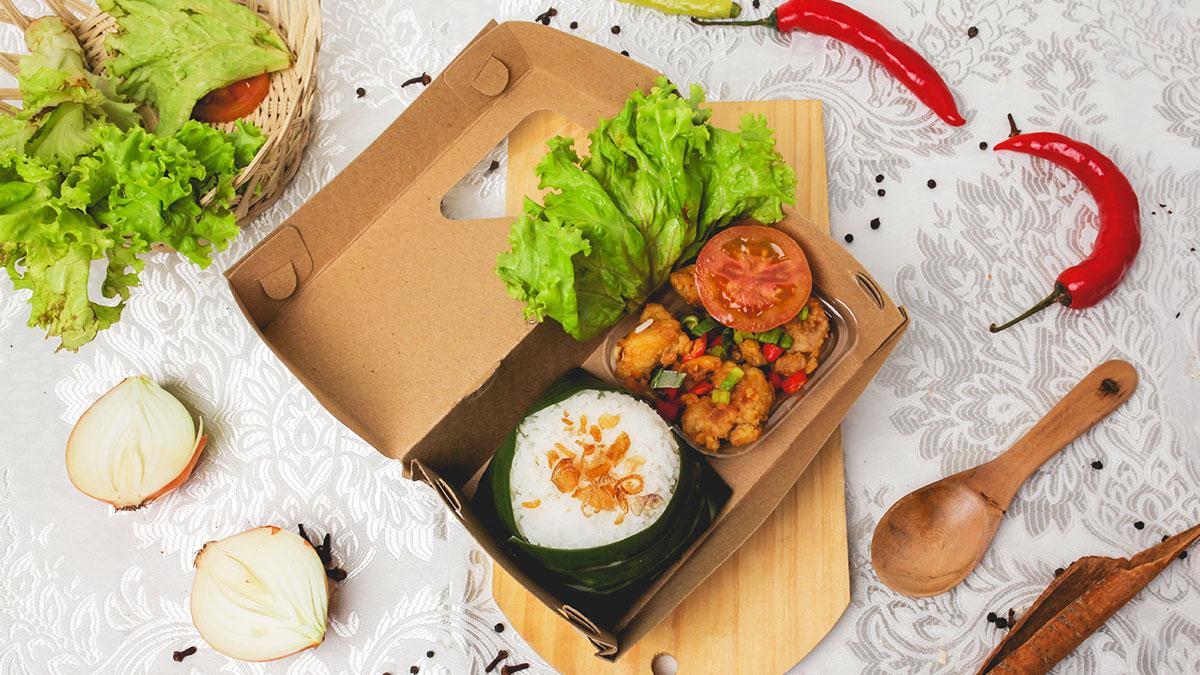Rice Box Ayam Telur Asin